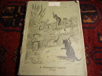 1899 Vintage CAT-TAILS and Other Tales Mary Howliston Black Cats antique BOOK
