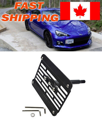FRONT BUMPER TOW Hook License Plate Mounting Bracket For 2013-2016 ...