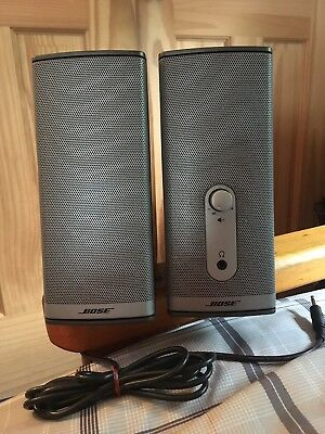 Bose Companion 2 Series II (2) Multimedia Speaker System Model 40274 Silver