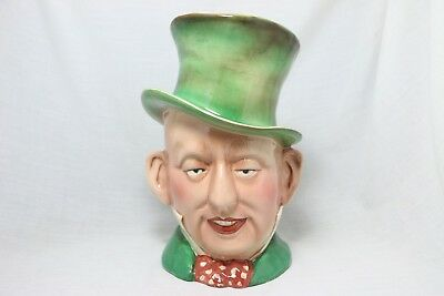 """BESWICK Ware """"Micawber"""" from Dickens """"David Copperfield"""" Large Toby Mug"""