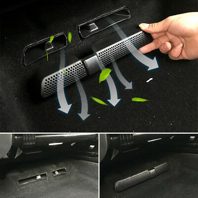 2PCS For SEAT Ateca 2016 2017 2018 Back Seat Air Condition Vent Net Duct Outlet
