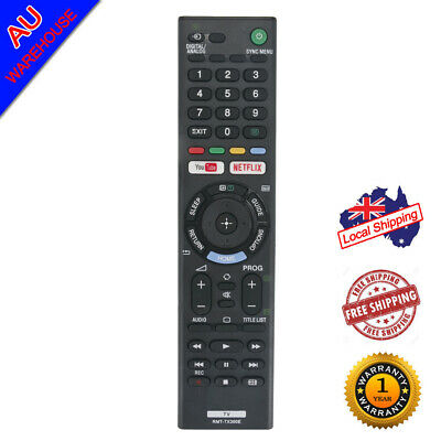 New RMT-TX300E Remote for Sony BRAVIA TV KD43X7000E KD49X7000E KDL32W660E