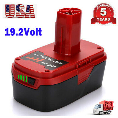 For 19.2V Craftsman C3 4.0Ah XCP Lithium Ion Battery 11375 11376 PP2030 Tools US