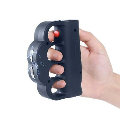 TACTICAL POLICE STUN GUN 999 Million Volt Knuckles + Taser Holster NEW