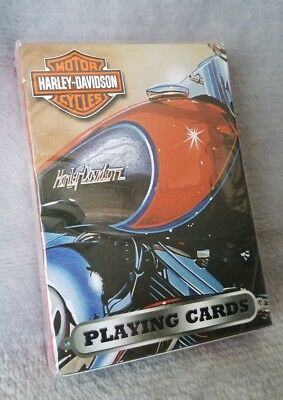 NIB Harley Davidson Motorcycles Playing Cards 2003 Segal BRAND NEW