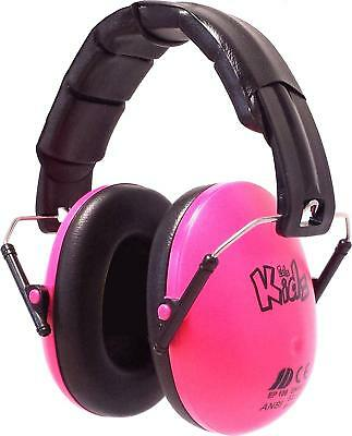 Pink girls ear defenders Hearing protection ear-muffs Baby/Kid/Child/Toddler