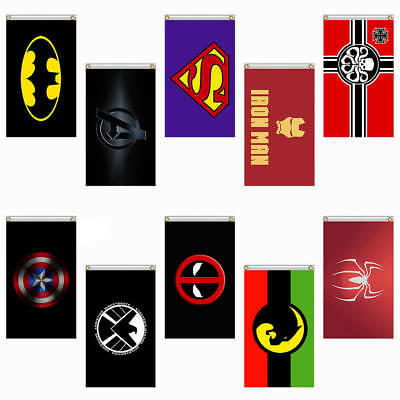 85x150cm 3x5ft Marvel Serie Thema Banner Polyester Hängend Flagge Wand Dekor