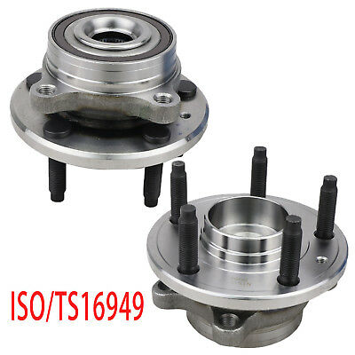 2Pcs Wheel Bearing Hub Assembly Rear/Front for FORD POLICE TAURUS FLEX LINCOLN
