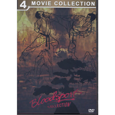 Bloodsport Collection 1,+2,+3,+4, Martial Arts Classics - DVD = Brand New Fast P