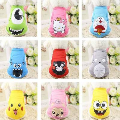 Small Pet Dog Clothes Fashion Costume Vest Puppy Cat T-Shirt Summer Apparel UK