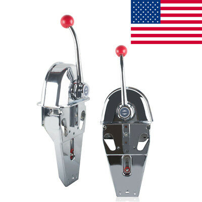 2018 Boat Single Control Lever Marine Engine Outboard Control Handle Top Mount
