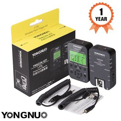 Yongnuo YN622N-TX KIT + YN622N Wireless TTL Flash Trigger Transceiver Nikon UK