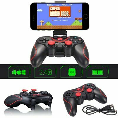 Wireless Bluetooth Gamepad Joystick Gaming for Android Phone & IOS TV Box PC