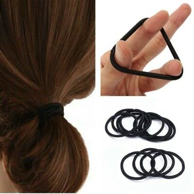 50X Elastic Rope Fashion Hair Ties Ponytail Holder Head Band Hairbands For Girl