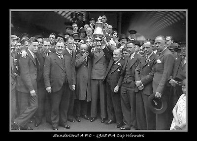Photograph/7 x 5/Photo/Print/Sunderland/FA Cup Winners/Wembley/1938