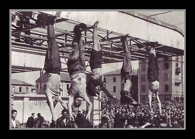 Photograph/7 x 5/Photo/Print/Retro/Italy/World War Two/Death Of Mussolini/Hanged