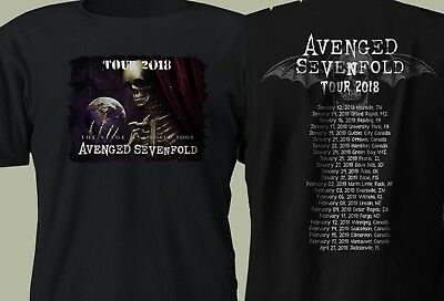 AVENGED SEVENFOLD SEIZE THE DAY T SHIRT METAL A7X T shirt Limited S-2XL