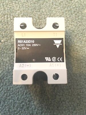 Carlo Gavazzi 10 A rms Solid State Relay, Zero Crossing, Chassis Mount Triac, 26
