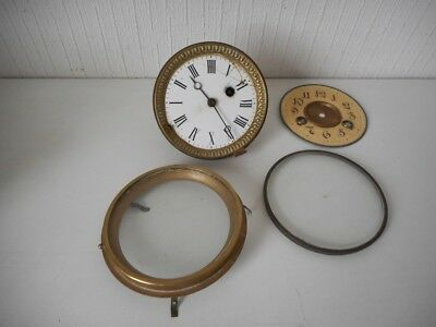 Mixed Job Lot of Antique Clock Parts/ Movement - Vintage Collection - G.R. PARIS