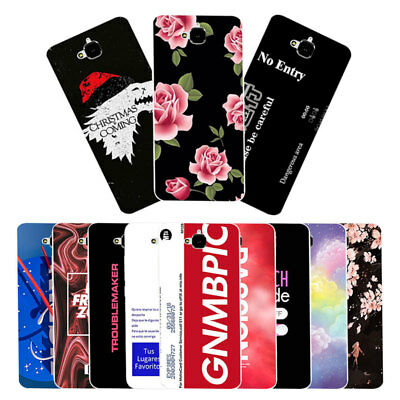 """5.0"""" Soft TPU Silicone Case For Huawei Y6 Pro Enjoy 5 Back Cover Skins Words"""
