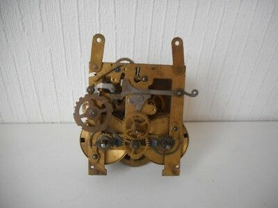 Antique Clock Movement - Spares and Repairs - Vintage