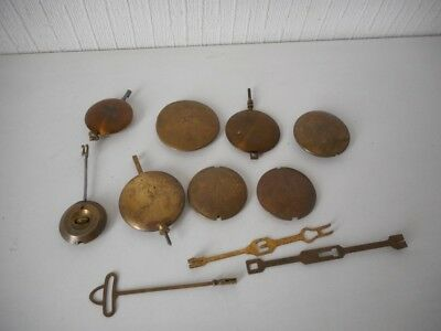 Antique & Vintage Clock Pendulums Job Lot