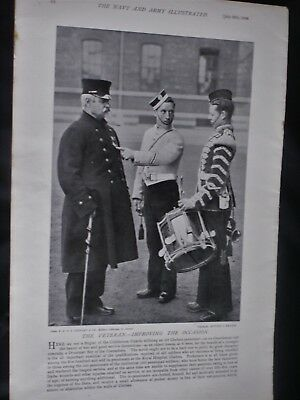 THE VETERAN. - IMPROVING THE OCCASION & Gen. Lord Chelmsford 1896 Photo Prints
