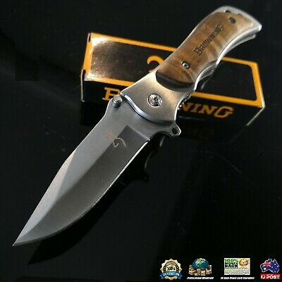 Browning Knife 339 Folding Opening Pocket Knife Survival&Fishing&Hunting&Camping