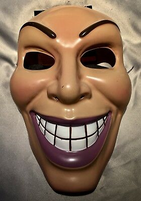 Smiling Woman The Purge Mask Grin Halloween Film Movie Horror Female Design