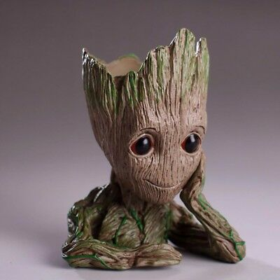 Marvel Guardians of The Galaxy Flowerpot Baby Tree Man Action Figures Cute Model