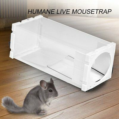 Rolling Mouse Mice Trap Rat Stick Rodent Spinning Trap Log Roll Bucket Catch EQ
