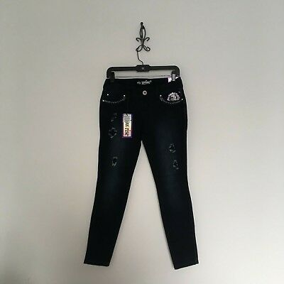 New Series 31 Low Rise Distressed Jeggings Skinny Ankle Jeans