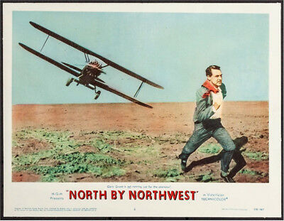 Alfred Hitchcock's North by Northwest, Cary Grant, Lobby card 1959