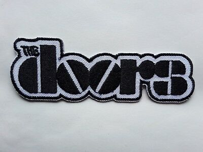 THE DOORS AMERICAN 60s BLUES HEAVY ROCK MUSIC BAND EMBROIDERED PATCH UK SELLER