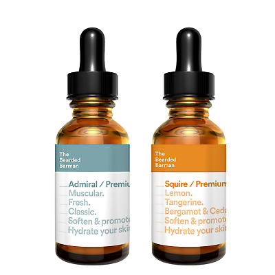 Beard Oil Sample Pack - SQUIRE 50ml & ADMIRAL 50ml