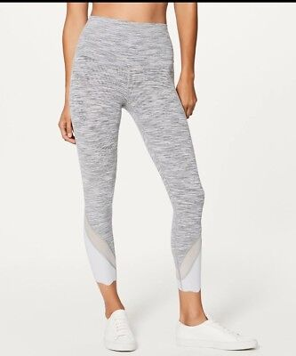 2d106cec730f5 RARE lululemon Wunder Under wee are from space Crop High Rise Legging 4
