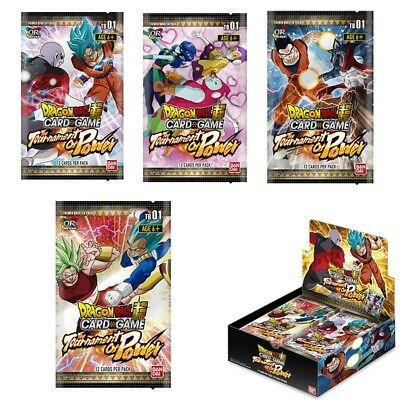 Carte DBZ Dragon Ball Super Card Game Tournament of Power #Booster x1