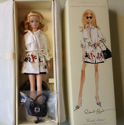 French Setter Limited Edition Silkstone B3442 Barbie New in box