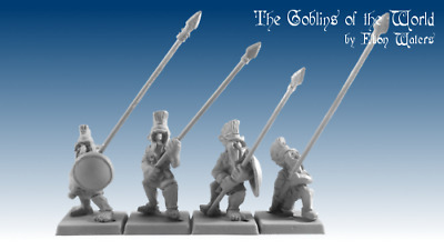 Goblins of the World, GoW5002 Greek Hopgoblins With Pikes , Warhammer Aos