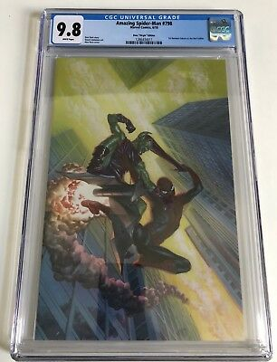 Amazing Spiderman #798 1:100 Ross Virgin Variant CGC 9.8 - 1st Red Goblin