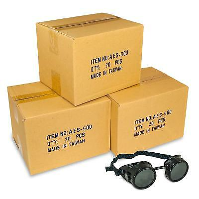 NEW! Black Welding Cup Goggles lot - 50mm Eye Cup 60 pcs