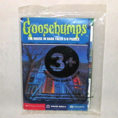 TACO BELL GOOSEBUMPS The House in Dark Falls 3D Puzzle 1997 Sealed