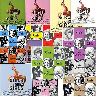 V.A. - GIRLS GIRLS GIRLS Vol. 1-15 - 15 CDs Set!