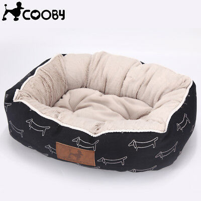 Cooby Large Pet Dog Cat Bed Puppy Cushion House Soft Warm Kennel Dog Mat Blanket