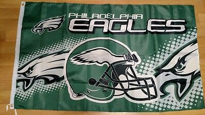 018867bbe PHILADELPHIA EAGLES 3'X5' Flag Super Bowl Banner: Fast Free Shipping ...