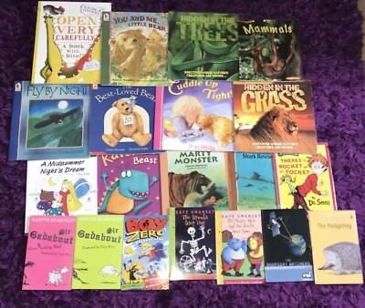 Selection Of 20 Kids Books By Favourite Childrens Author - All In Good Condition