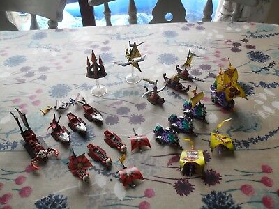 Warhammer Man O War Chaos Fleet Well Painted Khorne Nurgle Tzeentch Slaanesh