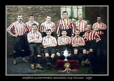 Photograph/7 x 5/Photo/Print/Sheffield United/FA Cup Winners/1899