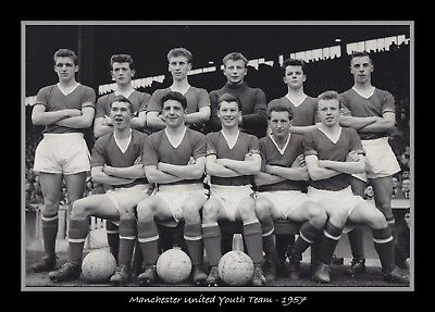 Photograph/7 x 5/Photo/Print/Manchester United Youth Team 1957