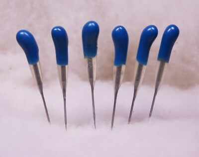 Felting Needle Tool Six Pack Blue 42 Triangle Finisher